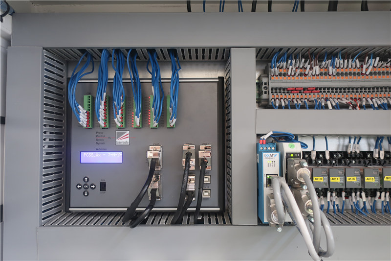 3.Lazersafe PCSS serieko segurtasun PLCa