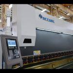 4 ardatz CNC presio balazta makina 175 tona x 4000 mm CNC motorizatutako koroa