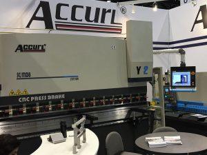 Accurlek Chicagoko makina-erreminta eta Industri Automatika Erakusketan parte hartu zuen 2016an