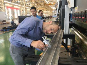 Iranen bezeroen probak gure fabrikan 2