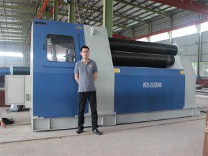 Tailandia Bezeroak Accrocl enpresaren W12 Rolling Machine erostea