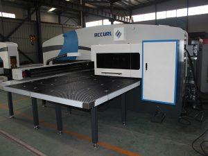 MAX-SF-30T fabrikazio cnc puntadun makina hidraulikoa zulatu presioarekin Amada tresnekin torreta zulatzeko Fanuc kontrolarekin