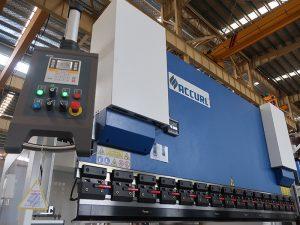 Popular hidraulikoa cnc prentsa balazta estun E210 kontrol sistema WC67Y- 125Ton / 3200mm ingeniari zerbitzuarekin
